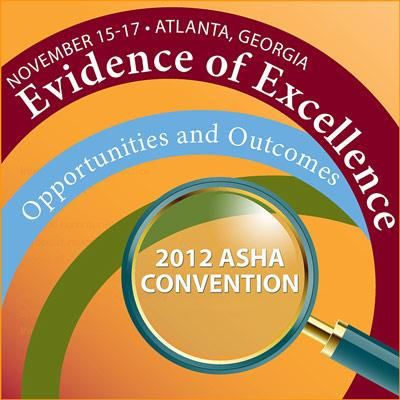 2012 ASHA Convention logo